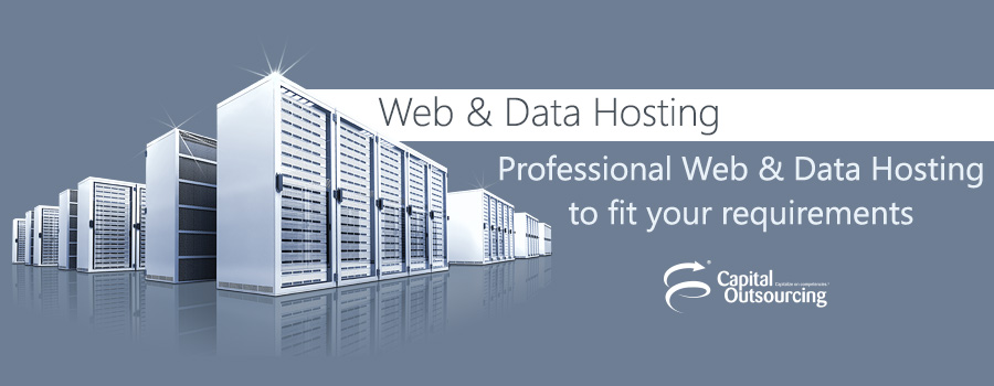 Web & Data Hosting Services from Capital Outsourcing